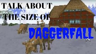 TALK ABOUT THE SIZE OF DAGGERFALL Before I walked the entire map