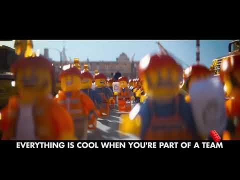 The lego movie (song lyrics  everything is awesome)