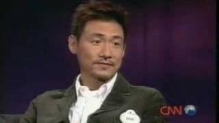 Jacky Cheung CNN TalkAsia Interview 2004-11-20 (1 of 3)