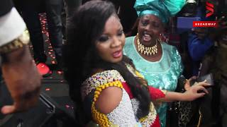 Omotola Jalade and Dele Momodu Dance To Shina Peters Old School Jams
