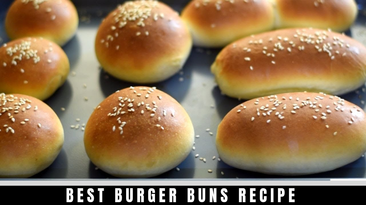 hamburger buns burger buns hotdog buns sandwich bun recipe youtube. Black Bedroom Furniture Sets. Home Design Ideas