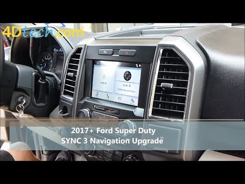Add Factory Navigation to SYNC 3 | 2017+ Ford Super Duty