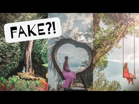 REAL or FAKE? Bali's Top Instagram Photo Spots