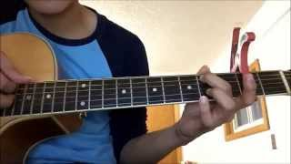 Hướng dẫn guitar Happy New Year - Sungha Jung ( Part 1 )