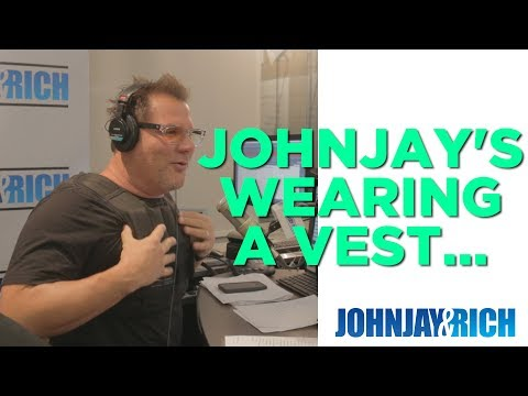 In-Studio Videos - Why is Johnjay Wearing That Vest?