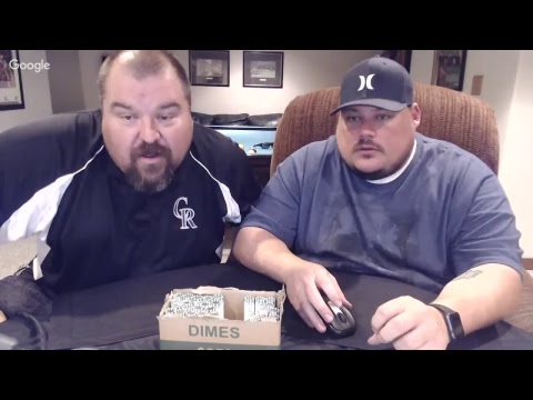 LIVE STREAM - HALF DOLLARS, BOX OF DIMES AND NICKELS! COIN  ROLL HUNT + MAIL TIME