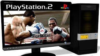 PCSX2 1.5.0 PS2 Emulator - Fight Night Round 3 (2006). Gameplay. Test run on PC #1