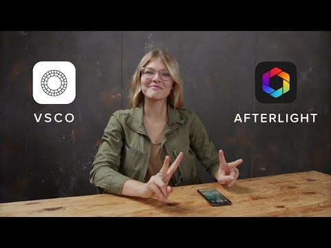 VSCO + Afterlight  Simple Editing Tutorial