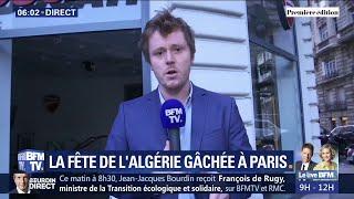 CAN 2019: la fête de l'Algérie gâchée à Paris par des pillages près des Champs-Élysées