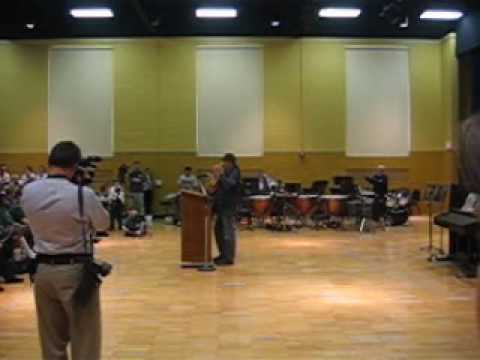 Ted Nugent visits Shrine Catholic High School and Academy