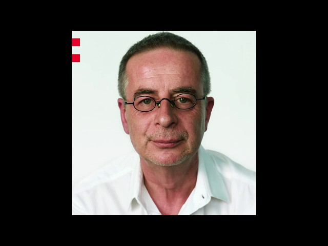 Frame of a video of Andreas Tölke speaking about the Odyssey project