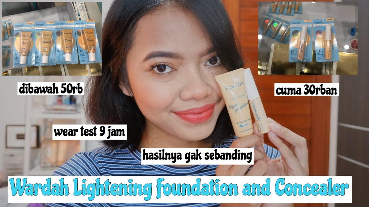 JATUH CINTA!!! Wardah Lightening Liquid Foundation and Wardah Lightening Concelear | IntanPermata