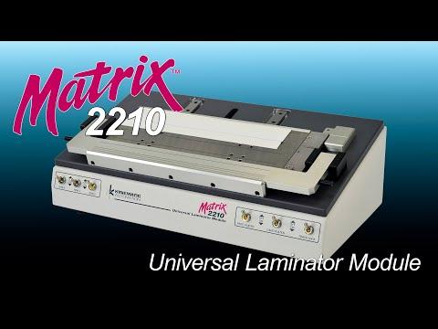 Kinematic Automation Matrix 2210 Laminator Module For Test Strip Development & Manufacturing