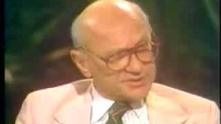 Milton Friedman on Greed - Capitalism vs. Socialism