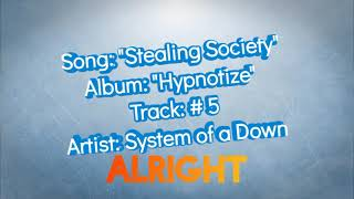 System of a Down - Stealing Society (Lyrics)