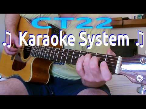 Warren Zevon - Don't Let Us Get Sick KARAOKE GUITAR REQUEST