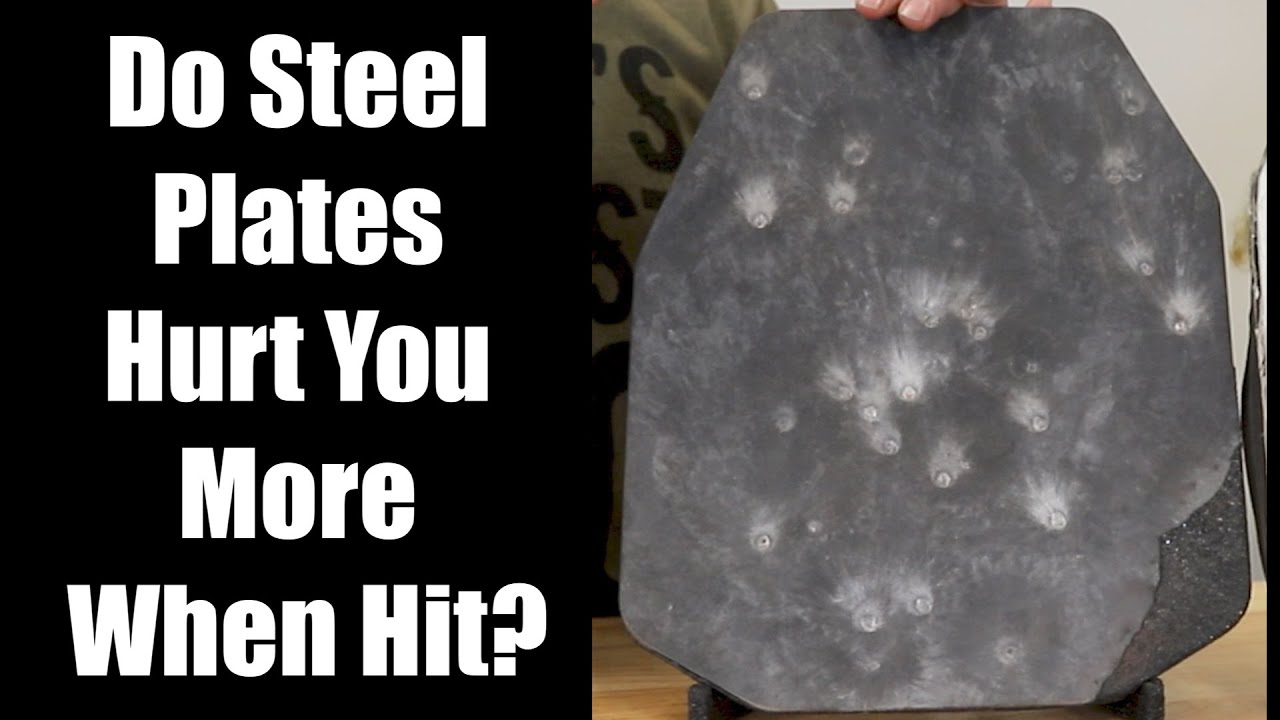 Do Steel Plates Hurt You More When Hit?   AR500 Armor