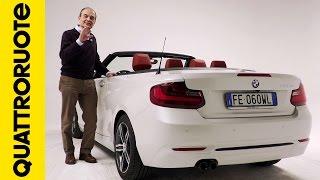 BMW 220d Cabrio Sport: ma è una vera BMW? - Diario di Bordo: Day 3