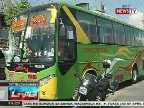 NTVL: 16 na bus units ng Corimba Express Inc., sinuspinde ng LTFRB
