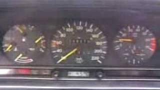 Mercedes 190 2.0 M102 COLD ENGINE START