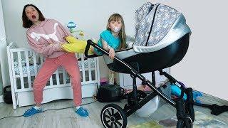 Настя как маленькая -  история про няню и правила поведения для детей