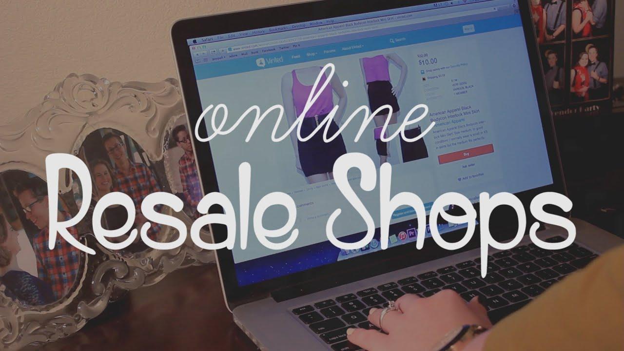 Online resale shop
