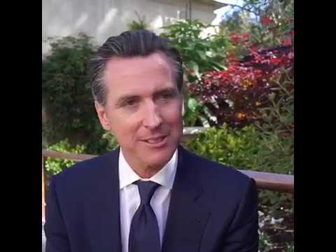 Gavin Newsom's advice to new UC Berkeley graduates