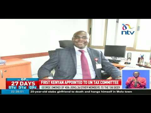 First Kenyan appointed to UN Tax committee