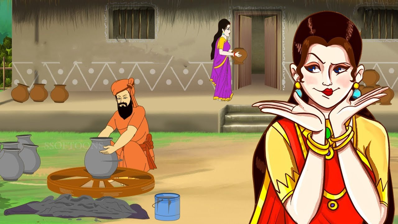 Ruper Demak | Mojar Bangla Golpo | Moral Stories | Indian Village Stories | Ssoftoons Animation