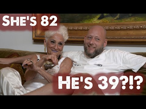 SHE'S 82 and HE'S 39 - A 43 YEAR AGE GAP?!?   [Hattie Retroage]