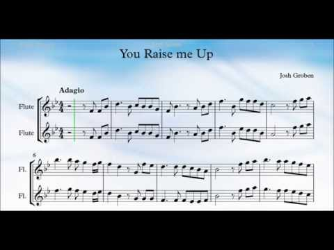 You Raise Me Up Flute