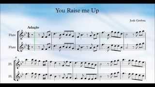 You Raise Me Up Flute