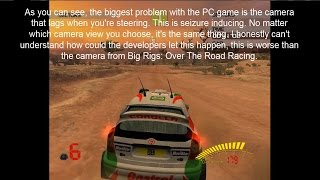 The worst PC port of a racing game EVER - V-Rally 3