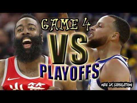 Houston Rockets vs Golden State Warriors | FULL GAME | Game 4 May 22 | FINALS CONFERENCE | NBA 2K18