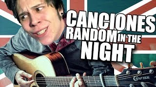 CANCIONES RANDOM IN THE NOCHE | con Mangel y una Guitarra