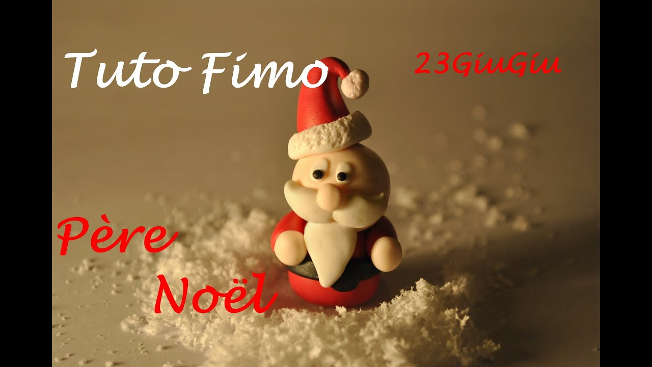 Tuto fimo no l le p re no l chibi youtube - Comment faire une couronne de noel ...
