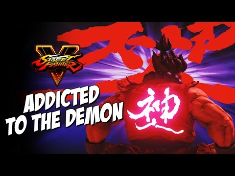 ADDICTED TO THE DEMON - Akuma: Week Of! Street Fighter 5 (Online Matches) Pt. 6