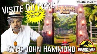 Jurassic Tour avec John Hammond !