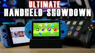 The Ultimate Handheld Showdown! | Switch | PS Vita | JXD S192K |