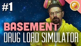 Drug Lord Simulator - Basement Gameplay Part 1