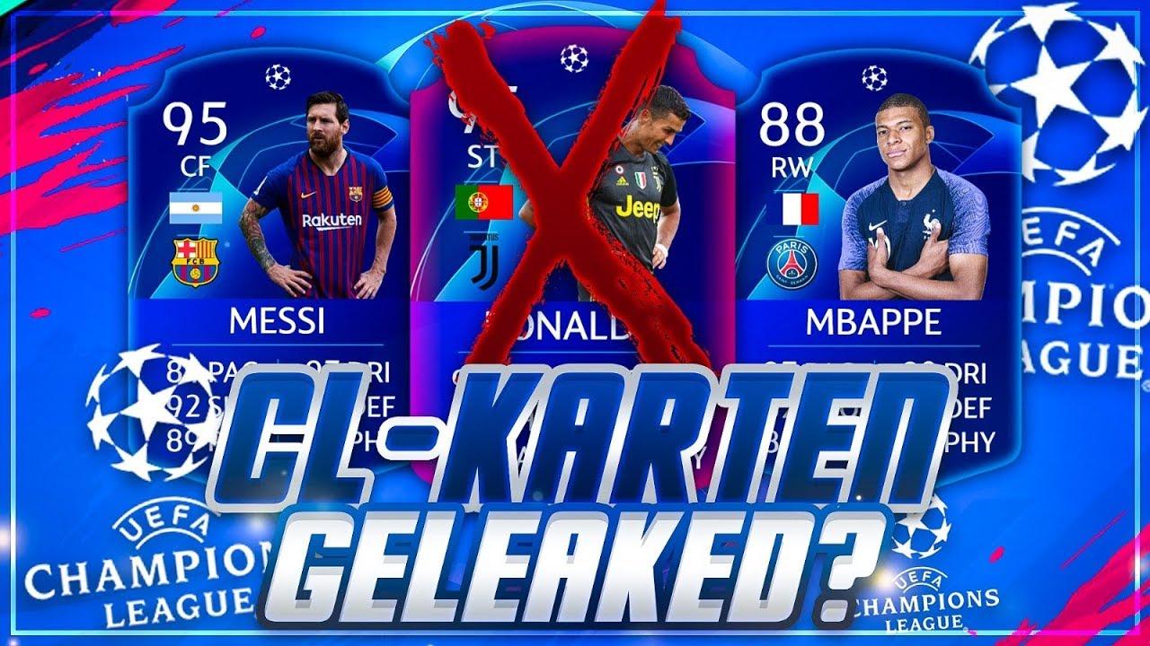 Fifa 19 Hat Ea Die Champions League Karten Geleaked Omg Youtube
