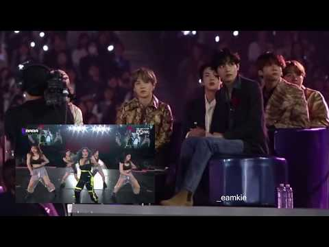 [HD] BTS Reaction To Mamamoo At MAMA 2019 (Full)