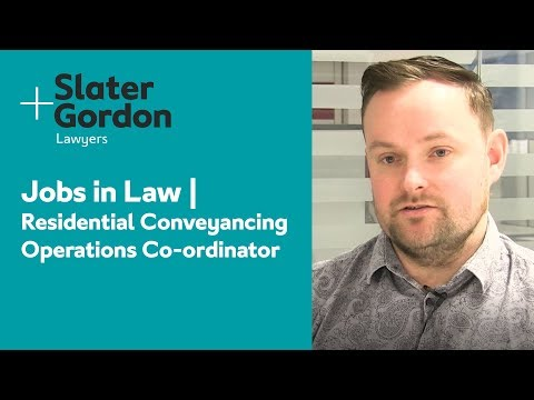 Jobs in Law    Residential Conveyancing  Operations Co-ordinator