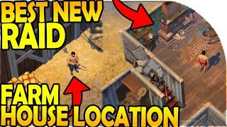 FARM HOUSE LOCATION - BEST NEW RAID! - Last Day On Earth Survival Update 1.8.6