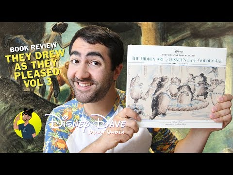 they-drew-as-they-pleased:-volume-3---the-hidden-art-of-disney's-late-golden-age---book-review