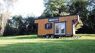 Tiny House With Easily Removable Trailer