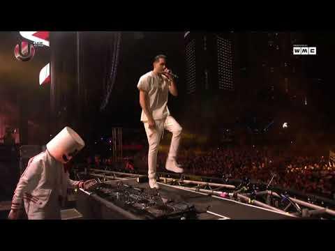 Marshmello & G-Eazy - No Limit live Ultra 2018