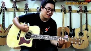 Demo sản phẩm Guitar KaSound
