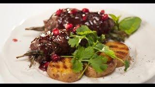 Мини-кебабы и картофель в гранатовом соусе | Дежурный по кухне
