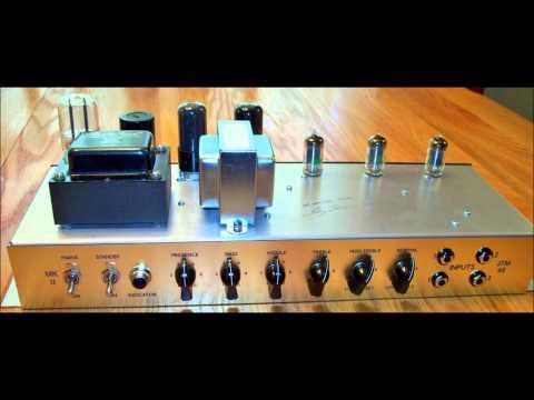 18 Watt Marshall JTM45 Clone  GR amps Clean Sound Clip.wmv